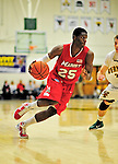 12 December 2010: Marist College Red Foxes' guard Sam Prescott, a Sophomore from Philadelphia, PA, in action against the University of Vermont Catamounts at Patrick Gymnasium in Burlington, Vermont. The Catamounts (7-2) defeated the Red Foxes 75-67 notching their 7th win of the season, and their best start since the '63-'64 season. Mandatory Credit: Ed Wolfstein Photo