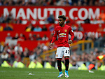 Angel Gomes of Manchester United during the English Premier League match at the Old Trafford Stadium, Manchester. Picture date: May 21st 2017. Pic credit should read: Simon Bellis/Sportimage