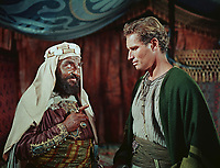 Ben-Hur (1959) <br /> Charlton Heston &amp; Hugh Griffith<br /> *Filmstill - Editorial Use Only*<br /> CAP/KFS<br /> Image supplied by Capital Pictures