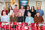 Jeffrey Courtney, all the way from Castleisland and Chicago enjoying a family get together in Cassidys on Saturday night.<br /> Seated l-r, Michael, Liam, Lorraine, Ann and Jeffrey Courtney.<br /> Back l-r, Patrick Courtney, Laura and Bill O'Connell,  Finbar Courtney, Mary O'Connell, Norann Courtney and Hugh O'Connell.
