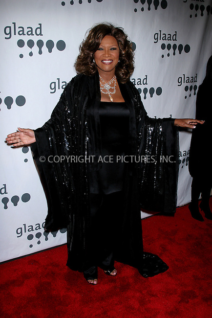WWW.ACEPIXS.COM . . . . .  ....March 26, 2007. New York City.....Patti Labelle arrives at the18th Annual GLAAD Media Awards held at the Marriott Marquis Hotel.....Please byline: JOHN WARD - ACEPIXS.COM.... *** ***..Ace Pictures, Inc:  ..Philip Vaughan  (646) 769 0430..e-mail: info@acepixs.com..web: http://www.acepixs.com