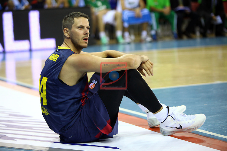 Euroleague Basketball-Regular Season Round 5.<br /> FC Barcelona vs Panathinaikos Athens: 78-69.<br /> Bostjan Nachbar.