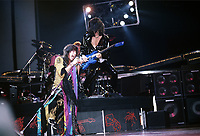 Aerosmith photographed in Chicago, Illinois on November 24th, 1982 CAP/MPI/GA<br /> &copy;GA/MPI/Capital Pictures