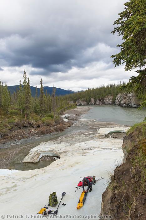 Vi creek, Brooks Range mountains, Alaska.