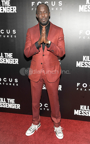 New York, NY- October 9:  Michael K. Williams attends the  'Kill the Messenger' New York Premiere at the Museum of Modern Art on October 9, 2014 in New York City. Credit: John Palmer/MediaPunch