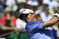 Brian Stuard (USA) tees off the 1st tee to start his match during Thursday's Round 1 of the 117th U.S. Open Championship 2017 held at Erin Hills, Erin, Wisconsin, USA. 15th June 2017.<br /> Picture: Eoin Clarke | Golffile<br /> <br /> <br /> All photos usage must carry mandatory copyright credit (&copy; Golffile | Eoin Clarke)