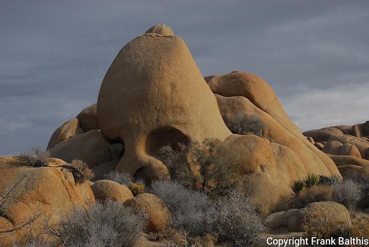 Skull Rock at Joshua Tree NP