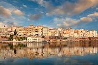 The old town of Corfu, Greece