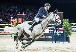Robert Smith of Great Britain riding Cimano E competes in the Masters One DBS during the Longines Masters of Hong Kong at AsiaWorld-Expo on 11 February 2018, in Hong Kong, Hong Kong. Photo by Diego Gonzalez / Power Sport Images