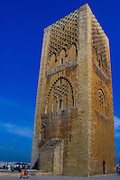 Hassan Tower or Tour Hassan is the minaret of an incomplete mosque in Rabat, Morocco.