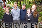 Attending the TY Day held in the Ballyroe Hotel on Tuesday afternoon were: Christine de Moirtíméir, Gerard Hanley, Fr Francis Nolan, Ciarda Ní Bhrosnacháin and Sorcha de Bhillis.