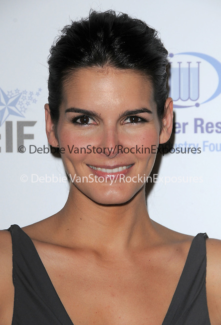 """Angie Harmon Sehorn at The Saks Fifth Avenue's """"Unforgettable Evening"""" benefiting EIF's Women's Cancer Research Fund held at The Beverly Wilshire Hotel in Beverly Hills, California on February 10,2009                                                                     Copyright 2009 Debbie VanStory/RockinExposures"""