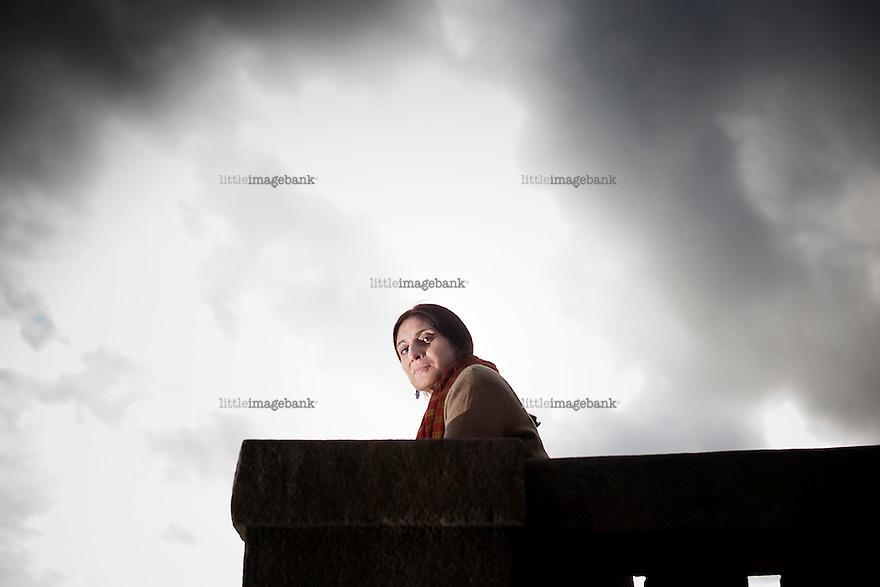 Oslo, Norge, 04.10.2012. Iffat Fatima har laget film om forsvinninger og drap i Kashmir. Hun deltar på Film fra Sør-festivalen. Foto: Christopher Olssøn.
