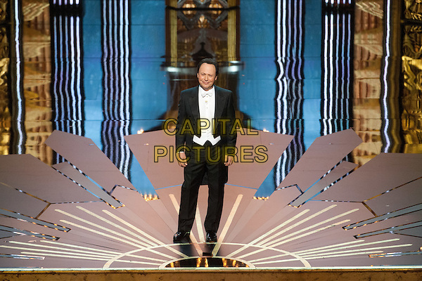 Billy Crystal hosts the 84th Annual Academy Awards® from Hollywood, CA February 26, 2012..*Editorial Use Only*.oscars black suit full length stage.CAP/A.M.P.A.S./NFS.©A.M.P.A.S. Supplied by Capital Pictures.
