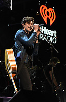 PHILADELPHIA, PA - DECEMBER 5: Shawn Mendes at Q102's iHeartRadio Jingle Ball at Wells Fargo Center in Philadelphia, Pennsylvania on December 5, 2018. Credit: John Palmer/MediaPunch