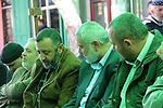 A handout picture dated February 26, 2014 and released by Hamas Press Office on August 21, 2014, shows the senior Hamas commander, Raed al-Atar (R), with the top Hamas official in Gaza Ismail Haniya (C) and senior Hamas commander, Mohammed Abu Shamala (L) in the southern Gaza Strip town of Rafah. Three senior Hamas commanders, including al-Atar, were among at least 15 Palestinians killed in Gaza early on August 21, as Israel stepped up air strikes on day 45 of the bloody conflict. The Brigades, the military wing of Hamas which holds de facto power in Gaza, identified the three as Mohammed Abu Shamala, Raed al-Atar and Mohammed Barhum. APAIMAGES / HO / HAMAS PRESS OFFICE