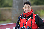 Photographer Claudio Peri before the start of the Ladies 2017 Strade Bianche running 127km from Siena to Siena, Tuscany, Italy 4th March 2017.<br /> Picture: Eoin Clarke | Newsfile<br /> <br /> <br /> All photos usage must carry mandatory copyright credit (&copy; Newsfile | Eoin Clarke)