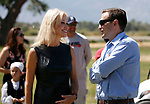 Kellyanne Conway talks to Nevada Attorney General Adam Laxalt at the 4th annual Basque Fry in Gardnerville, Nev., on Saturday, Aug. 25, 2018. Hosted by the Morning in Nevada PAC, the event is a fundraiser for conservative candidates and issues and includes traditional Basque dishes like deep-fried lamb testicles.(Cathleen Allison/Las Vegas Review Journal)
