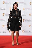 Liz Bonin<br /> at the 2016 BAFTA TV Awards, Royal Festival Hall, London<br /> <br /> <br /> &copy;Ash Knotek  D3115 8/05/2016