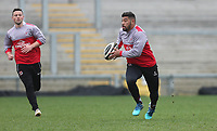 Thursday 12th April 2018 | Ulster Rugby Captain's Run<br /> <br /> Charles Piutau during Captain's Run held at Kingspan Stadium, Ravenhill Park, Belfast, Northern Ireland. Photo by John Dickson / DICKSONDIGITAL