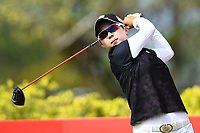 SINGAPORE - MARCH 02: Hyo Joo Kim of South Korea on the 3rd tee during the third round of the HSBC Women's World Championship 2019 at Sentosa Golf Club - Tanjong Course, Singapore on March 02, 2019.<br /> .<br /> .<br /> .<br /> (Photo by: Naratip Golf Srisupab/SEALs Sports Images)<br /> .<br /> Any image use must include a mandatory credit line adjacent to the content which should read: Naratip Golf Srisupab/SEALs Sports Images