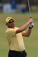 David Brandson (AUS) on the 11th fairway during Round 2 of the Australian PGA Championship at  RACV Royal Pines Resort, Gold Coast, Queensland, Australia. 20/12/2019.<br /> Picture Thos Caffrey / Golffile.ie<br /> <br /> All photo usage must carry mandatory copyright credit (© Golffile | Thos Caffrey)