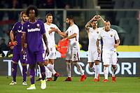 Esultanza gol Diego Perotti Goal Celebration<br /> <br /> Firenze 05-11-2017 Stadio Artemio Franchi Calcio Serie A 2017/2018 Fiorentina - AS Roma Foto Filippo Rubin / Insidefoto