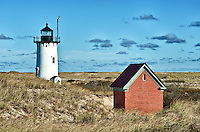Race Point Lighthouse, Provincetown, Cape Cod, MA, USA