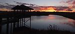 Sundown on Mother of Ducks Lagoon Guyra NSW