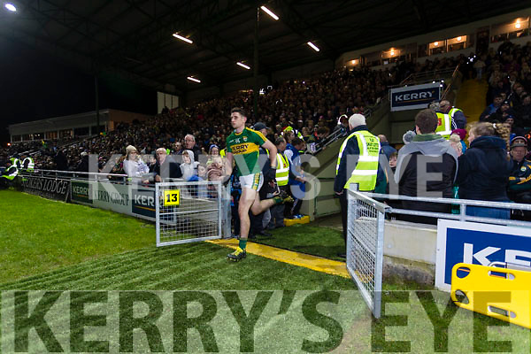 Paul Geaney Kerry in action against  Dublin in the National League in Austin Stack park on Saturday night.