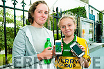 Niamh  O'Shea Killarney & Lily Harte, Listowel with their Pokemon in Listowel on Wednesay evening.