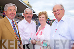 Rich Fulong with John and Anna Asple (owners of AskAnna, winner of 3rd race) and Patrick Fortune who travelled from Wexford for the racing last Saturday in Listowel...
