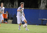 Florida International University men's soccer player Arnthor Kristinsson (19) plays against Nova University on August 26, 2011 at Miami, Florida. FIU won the game 2-0. .