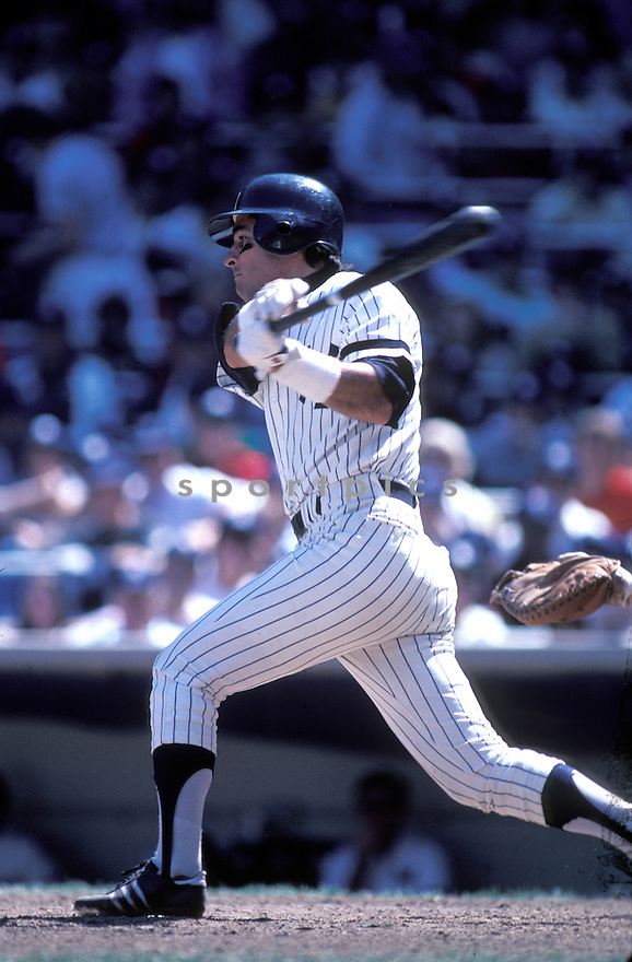New York Yankees Bucky Dent(20) in action during a game at Yankee Stadium in the Bronx, New York. Bucky Dent played for 13 years with 4 different teams.David Durochik/SportPics