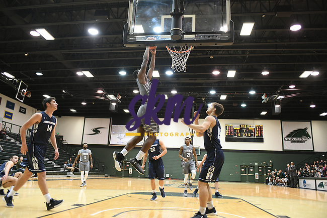 Stevenson men's basketball made it a tight game against Messiah on Wednesday night at Owings Mills gymnasium, but comes away with an