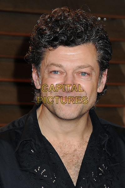 02 March 2014 - West Hollywood, California - Andy Serkis. 2014 Vanity Fair Oscar Party following the 86th Academy Awards held at Sunset Plaza. <br /> CAP/ADM/BP<br /> &copy;Byron Purvis/AdMedia/Capital Pictures