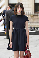 Stacy Martin arrives for the VIP preview of the Royal Academy of Arts Summer Exhibition 2016
