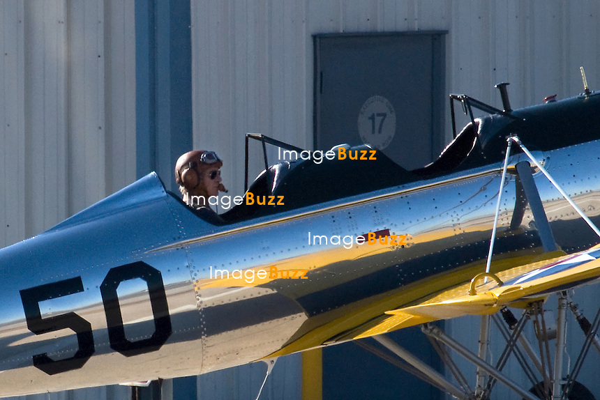Harrison Ford turned 70 on July 13, 2012 and still flies his aircrafts and helicopters. He began flight training in the 60's and was involved in the crash of a Bell 206L4 LongRanger helicopter in October 1999. .- Harrison Ford flies a Ryan PT22 plane from 1930 in Santa Monica, California..The Ryan PT-22 Recruit was designed in the MID 1930's and entered service in 1940 with the United States Army Air Corps, by the end of production 1273 aircraft had been produced and most remained in service until the end of WW2, consequently many of the US pilots of WWII learned to fly in these machines..Although primarily used by the armed forces of the US the Ryan PT-22 Recruit was also used by China and Ecuador as a military trainer..EXCLUSIVE PHOTOS.
