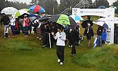 1st October 2017, Windross Farm, Auckland, New Zealand; LPGA McKayson NZ Womens Open, final round;  Spain's Belen Mozo arrives on the first tee