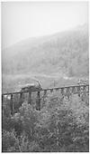RGS #42 crossing bridge 45-A light.<br /> RGS  Ophir, CO