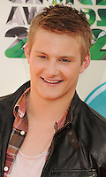 LOS ANGELES, CA - MARCH 31: Alexander Ludwig arrives at the 2012 Nickelodeon Kids' Choice Awards at Galen Center on March 31, 2012 in Los Angeles, California.