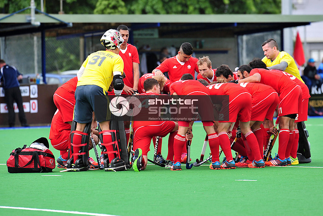Black Sticks v Canada, Saxton Turf, Nelson, <br /> 10 December 2014, Nelson, New Zealand <br /> Photo: Barry Whitnall/www.shuttersport.co.nz