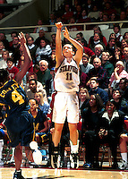 STANFORD, CA - JANUARY 21: Jamie Carey of the Stanford Cardinal during Stanford's 78-62 win over the California Golden Bears on January 21, 2000 at Maples Pavilion in Stanford, California.