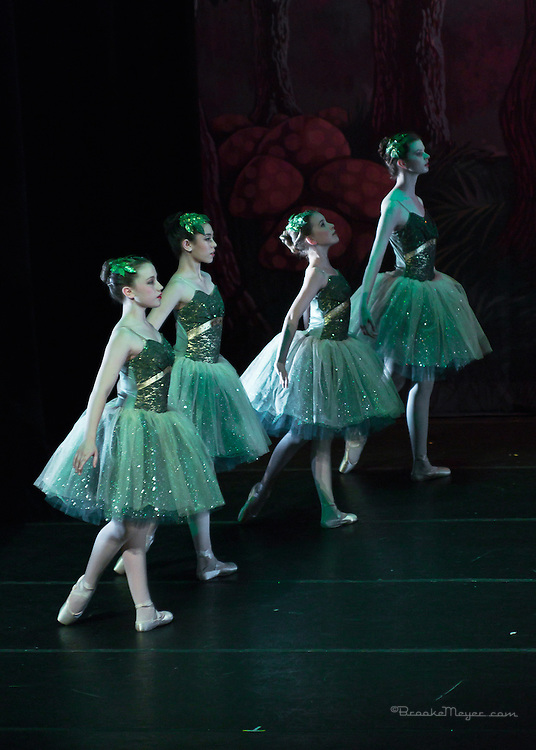 "First Performance, ""Flight To Neverland"", the 2013 Annual Recital by the Cary Ballet Conservatory."