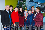 Little Fionn  Maggs and his mum Yvonne Doolan were welcomed home by Billy Doolan,  Nathan and Callan McCarthy,Michelle and Eileen Doolan and Nessa McCarthy at Kerry Airport on Monday