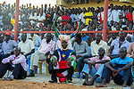 South Sudan's first football international, Juba, July 2012