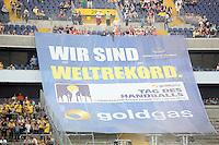 Zuschauerweltrekord in Frankfurt- Tag des Handball, Rhein-Neckar Löwen vs. Hamburger SV, Commerzbank Arena