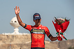 Gorka Izagirre (ESP) Bahrain-Merida 3rd overall after Stage 6 of the 2018 Tour of Oman running 135.5km from Al Mouj Muscat to Matrah Cornich. 18th February 2018.<br /> Picture: ASO/Muscat Municipality/Kare Dehlie Thorstad | Cyclefile<br /> <br /> <br /> All photos usage must carry mandatory copyright credit (&copy; Cyclefile | ASO/Muscat Municipality/Kare Dehlie Thorstad)