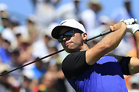 Paul Casey (ENG) tees off the 1st tee to start his match during Thursday's Round 1 of the 117th U.S. Open Championship 2017 held at Erin Hills, Erin, Wisconsin, USA. 15th June 2017.<br /> Picture: Eoin Clarke | Golffile<br /> <br /> <br /> All photos usage must carry mandatory copyright credit (&copy; Golffile | Eoin Clarke)