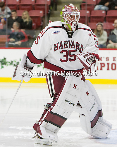 Michael Lackey (Harvard - 35) - The Harvard University Crimson defeated the visiting Brown University Brown Bears 5-2 (EN) on Saturday, November 7, 2015, at Bright-Landry Center in Boston, Massachusetts.